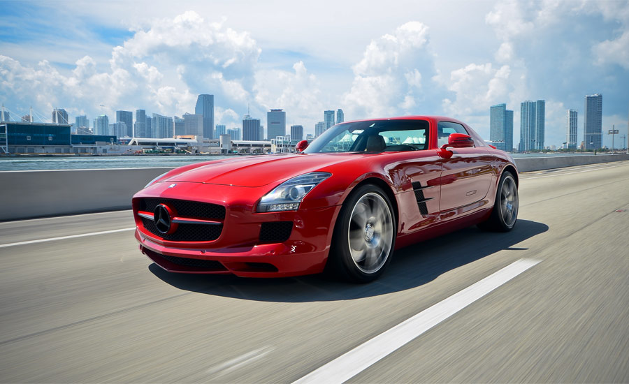 Mercedes benz sls rentals rent a mercedes benz sls in for Mercedes benz service miami