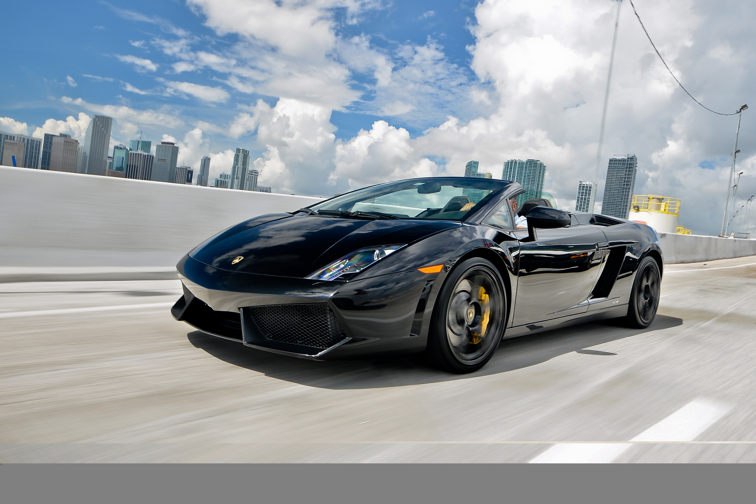 new lamborghini roadster youtube watch in aventador a the miami all mph rent club